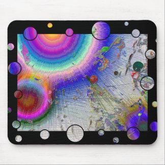 Enamel Sunburst Fun Frame Mouse Pad
