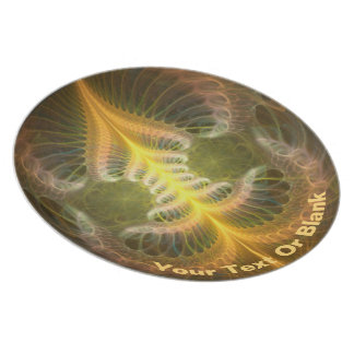 Enameled Brass Tray Plate