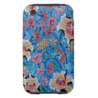 Enameled Flowers Art iPhone 3 Case-Mate Case