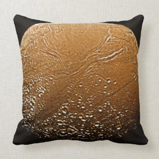Enceladus Throw Pillow