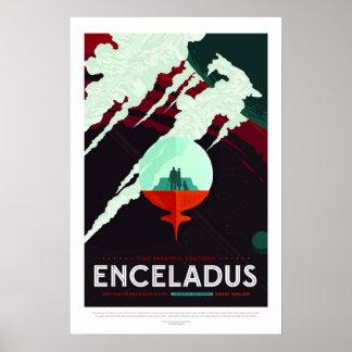 Enceladus, Travel Poster