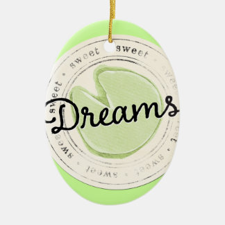 enchant-circle-dreams SWEET BEAUTY MOTIVATIONAL FA Ceramic Ornament