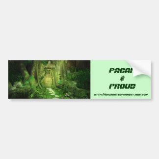 Enchantd Forest Bumper Sticker