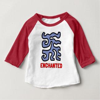 """Enchanted"" Baby 3/4 Raglan T-Shirt"