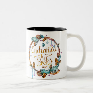 Enchanted by Books mug