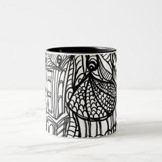 Enchanted castle Two-Tone coffee mug