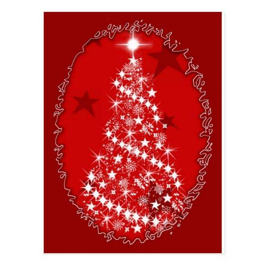 Enchanted Christmas Postcard