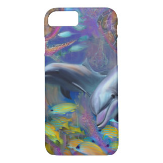 Enchanted Dolphines iPhone 7 Case