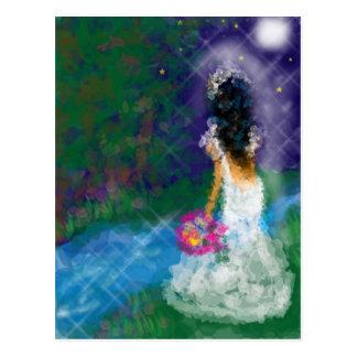 Enchanted Evening, Celebration, Birthday, Bridal Postcard