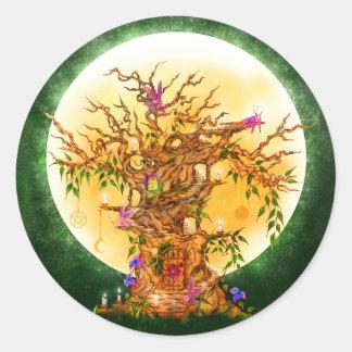 Enchanted Fairy Tree Stickers