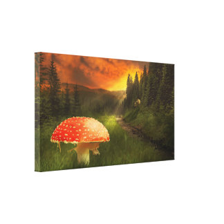 Enchanted Forest Canvas Canvas Print