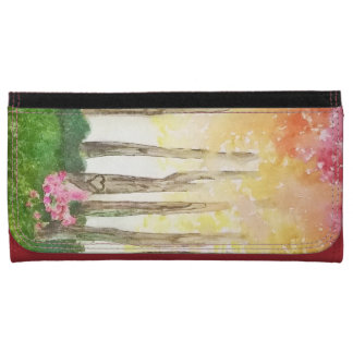 Enchanted Forest Large Faux Leather Wallet