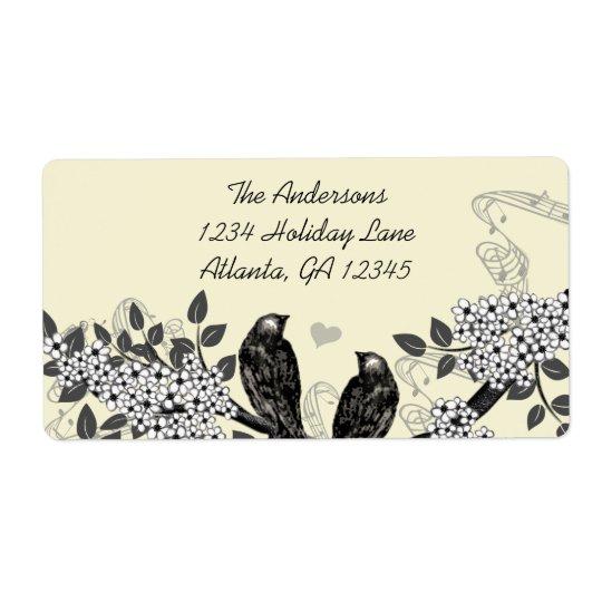 Enchanted Forest Love Bird Wedding