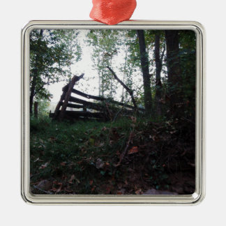 Enchanted Forest Metal Ornament