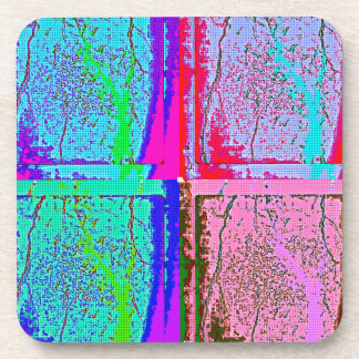 Enchanted Forest Pattern Beverage Coasters