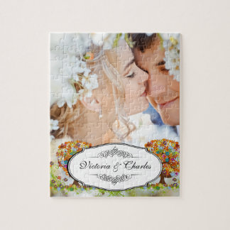 Enchanted Forest Side Branch Wedding Puzzle
