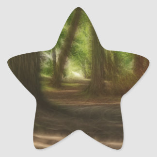 Enchanted Forest Star Sticker