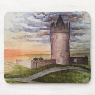 Enchanted Irish castle mouse pad. Mouse Pad