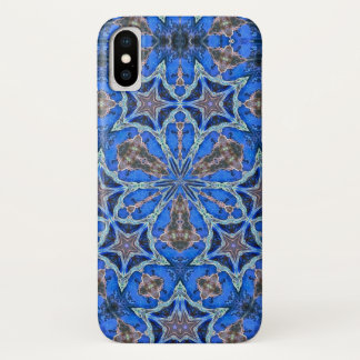 Enchanted Magic Merlin Star Watercolor Mandala iPhone X Case