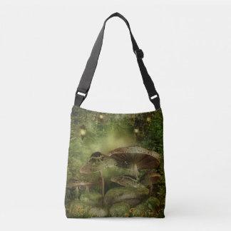 Enchanted Mushrooms Cross Body Bag