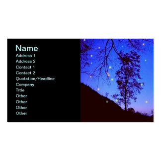 Enchanted Night Business Card Templates