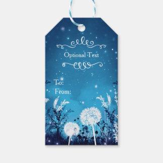 Enchanted Night Sky Stars & Foliage Blue Wedding