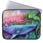 Enchanted Ocean Art Laptop Sleeve