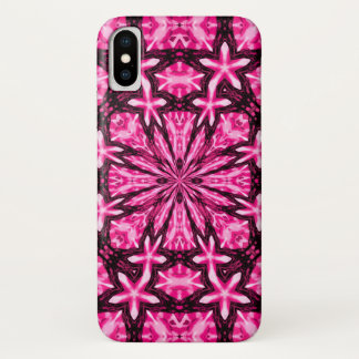Enchanted Pink Faerie Window Watercolor Fantasy iPhone X Case