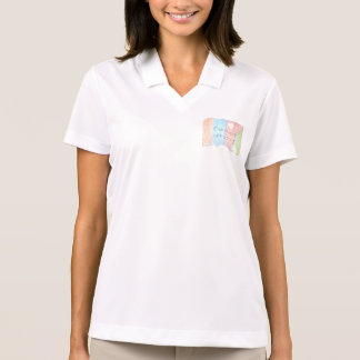 Enchanted rainbow and unicorn fairytale polo shirt