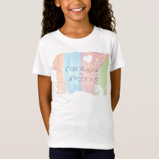 Enchanted rainbow and unicorn fairytale T-Shirt