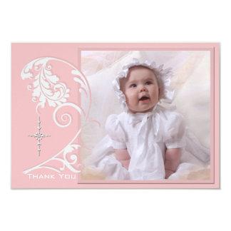 Enchanted Religious Photo Thank You Card