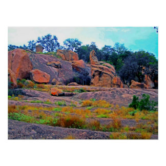 Enchanted Rock Poster