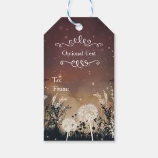 Enchanted Rustic Night Sky Stars & Foliage Wedding