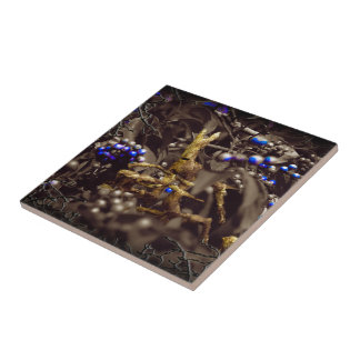 Enchanted Undergrowth Ceramic Tile