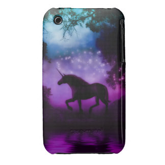 Enchanted Unicorn Blackberry  Iphone 3g Case/Cover iPhone 3 Case-Mate Case