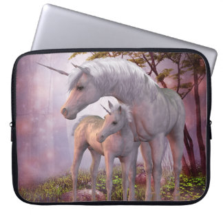 Enchanted Unicorns Laptop Sleeve