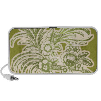 Enchanted_vintagefloralsticker VINTAGE RETRO FLORA Mini Speaker
