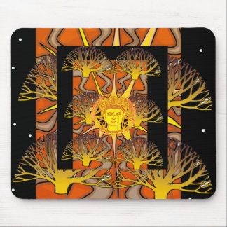 ENCHANTING BUDDHA MOUSE PAD