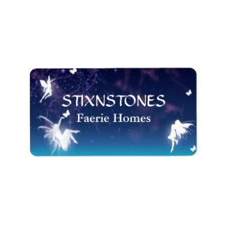 Enchanting Fairies Custom Label Address Label