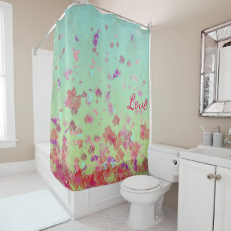 Enchanting Flowers - Shower Curtain