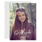 Enchanting Grad Photo Announcement