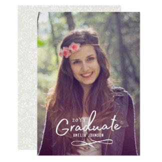 Enchanting Grad Photo Announcement