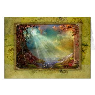 Enchanting Grotto Card