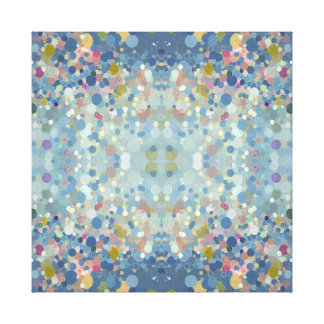 Enchanting Mandala Canvas Print by Margaret Juul
