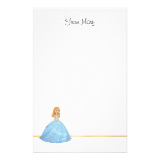Enchanting Princess Personalised Stationery