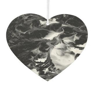 ENCHANTMENT  (black & white abstract art) ~