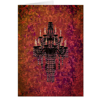 Enchantment Chandelier - Card / Invitations