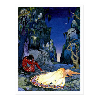 Enchantment ~ French Fairy Tale Art Painting Postcard