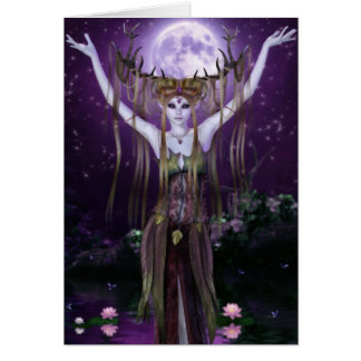 Enchantments of the Night Creatures Greeting Card