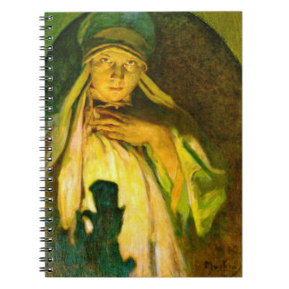 Enchantress 1900 spiral notebook